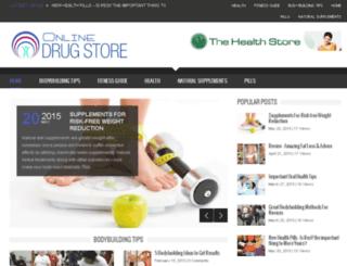 onlinedrugstorez.com screenshot