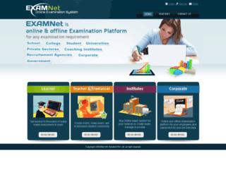 onlineexam.in screenshot