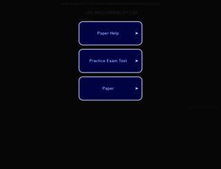 onlineexamhelp.com screenshot