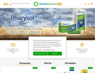 onlinefarmacia.es screenshot