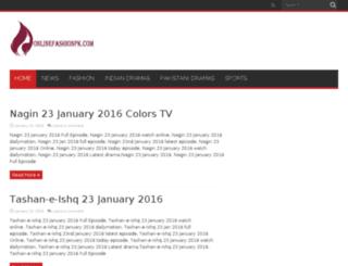 onlinefashionpk.com screenshot