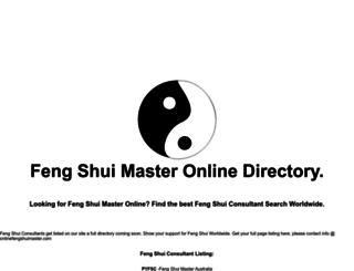 onlinefengshuimaster.com screenshot