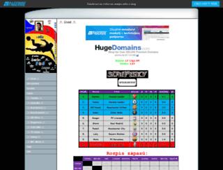 onlinefifa08.wbs.cz screenshot