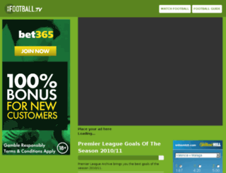 onlinefootball.tv screenshot