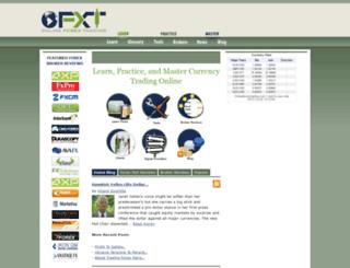 onlineforextrading.com screenshot