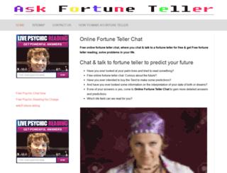 onlinefortunetellerchat.com screenshot