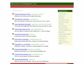 onlinefpsgamer.com screenshot