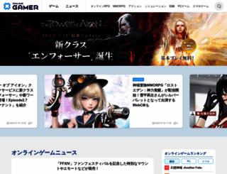 onlinegamer.jp screenshot