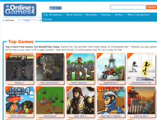 onlinegames.net screenshot