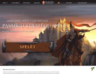 onlinegames.travian.lv screenshot