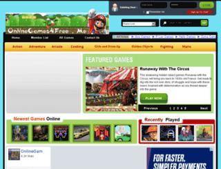 onlinegames4free.me screenshot