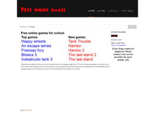 onlinegames4school.weebly.com screenshot