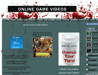 onlinegamevids.com screenshot