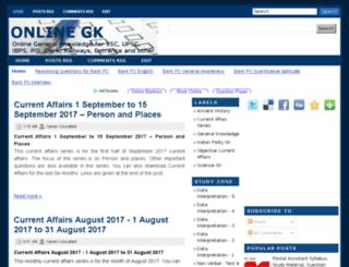 onlinegk.org screenshot