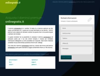 onlinegratis.it screenshot