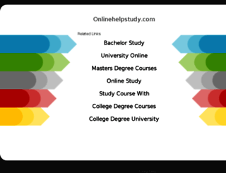 onlinehelpstudy.com screenshot
