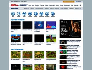 onlinehry.idnes.cz screenshot