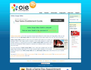 onlineimageeditor.info screenshot