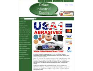 onlineindustrialsupply.com screenshot
