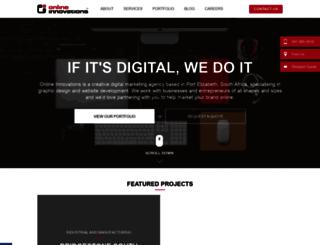 onlineinnovations.com screenshot