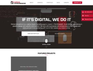 onlineinnovations.mobi screenshot