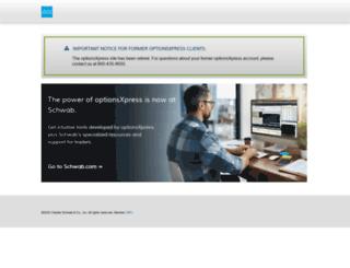onlineint.optionsxpress.com screenshot