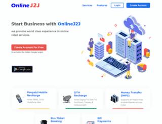 onlinej2j.com screenshot
