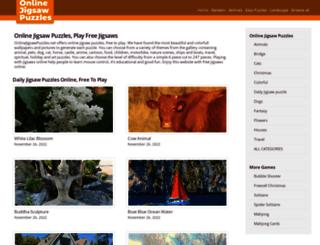 onlinejigsawpuzzles.net screenshot