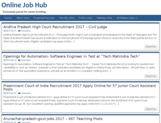 onlinejobhub.com screenshot