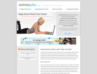 onlinejobs.com screenshot