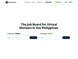 onlinejobs.ph screenshot
