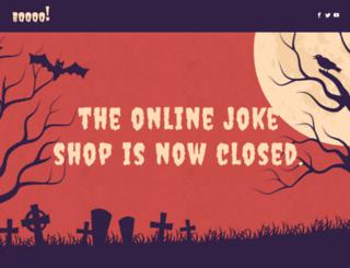 onlinejokeshop.co.uk screenshot