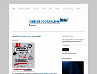 onlinejournalismblog.com screenshot
