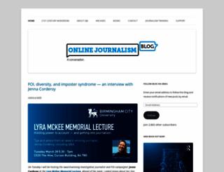 onlinejournalismblog.wordpress.com screenshot