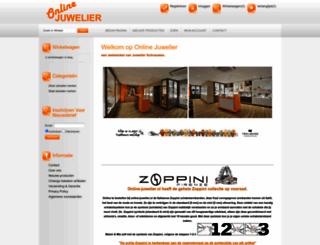 onlinejuwelier.nl screenshot