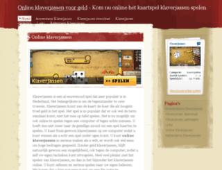 onlineklaverjassen.org screenshot