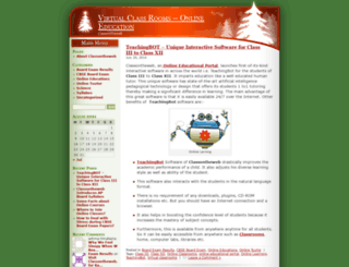 onlinelearningcourses.wordpress.com screenshot