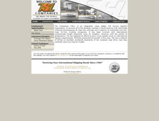 onlinelogistics.com screenshot