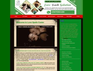 onlinelovespells.com screenshot