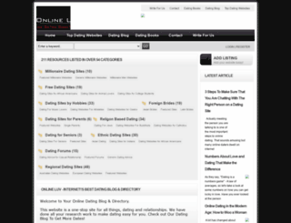 onlineluv.com screenshot