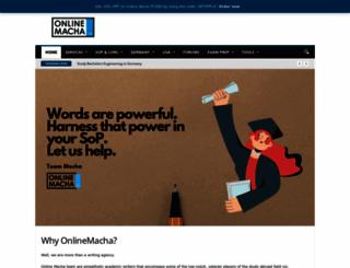 onlinemacha.com screenshot