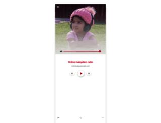 onlinemalayalamradio.com screenshot