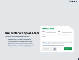 onlinemarketingjobs.com screenshot