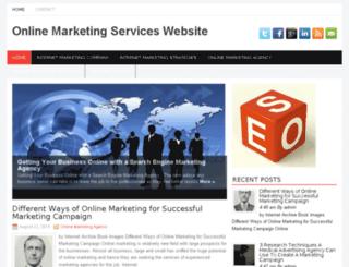 onlinemarketingserviceswebsite.info screenshot