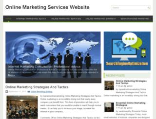 onlinemarketingserviceswebsite.net screenshot