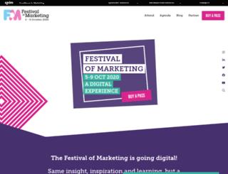 onlinemarketingshow.co.uk screenshot
