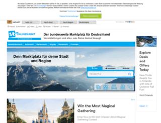 onlinemarkt-deutschland.de screenshot
