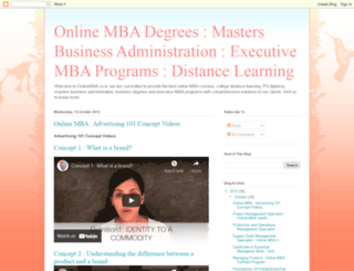 onlinemba.co.in screenshot