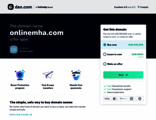 onlinemha.com screenshot