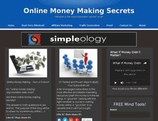 onlinemoneymakingsecrets.biz screenshot